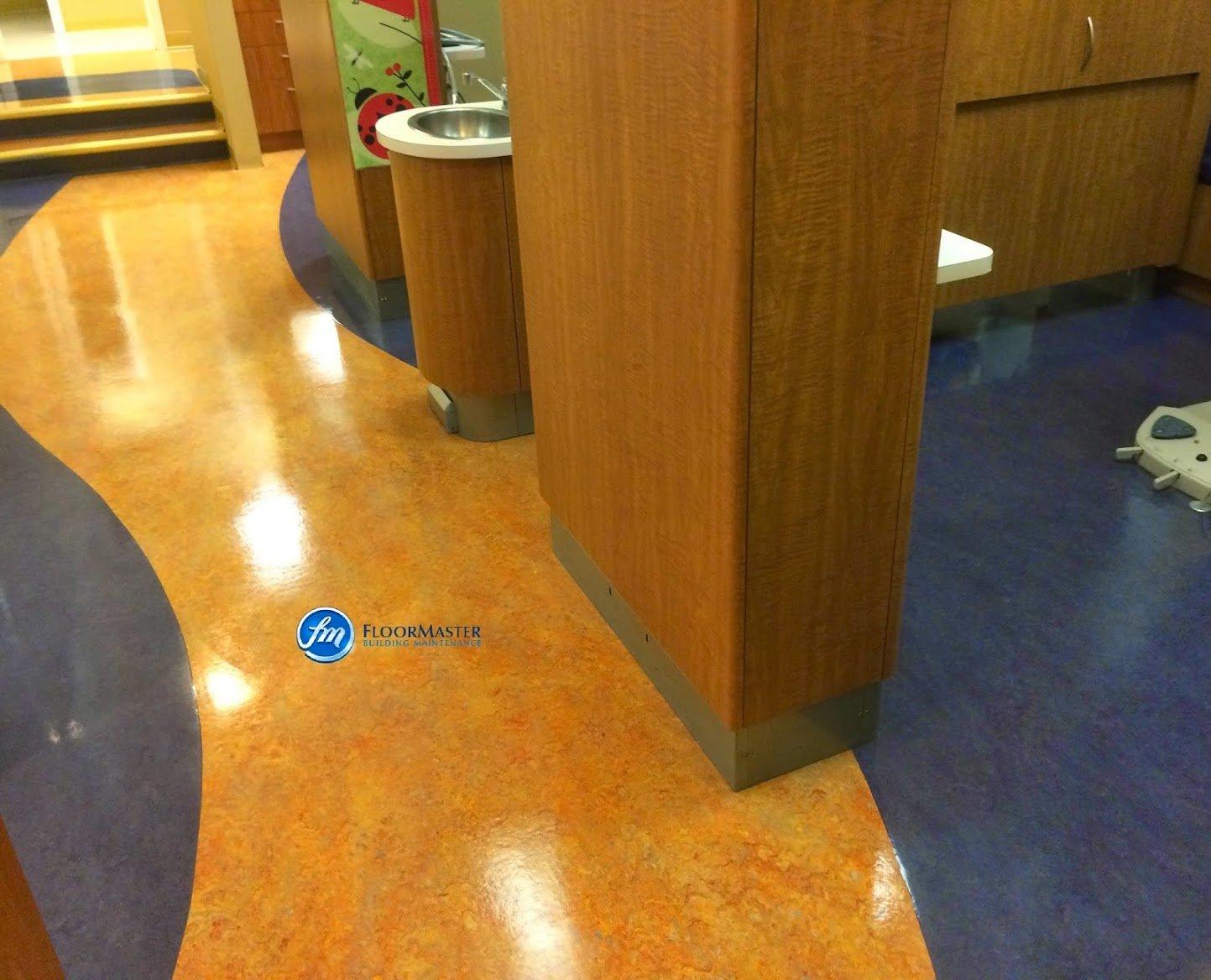 Floor Master Building Maintenance We Specialize In Marmoleum