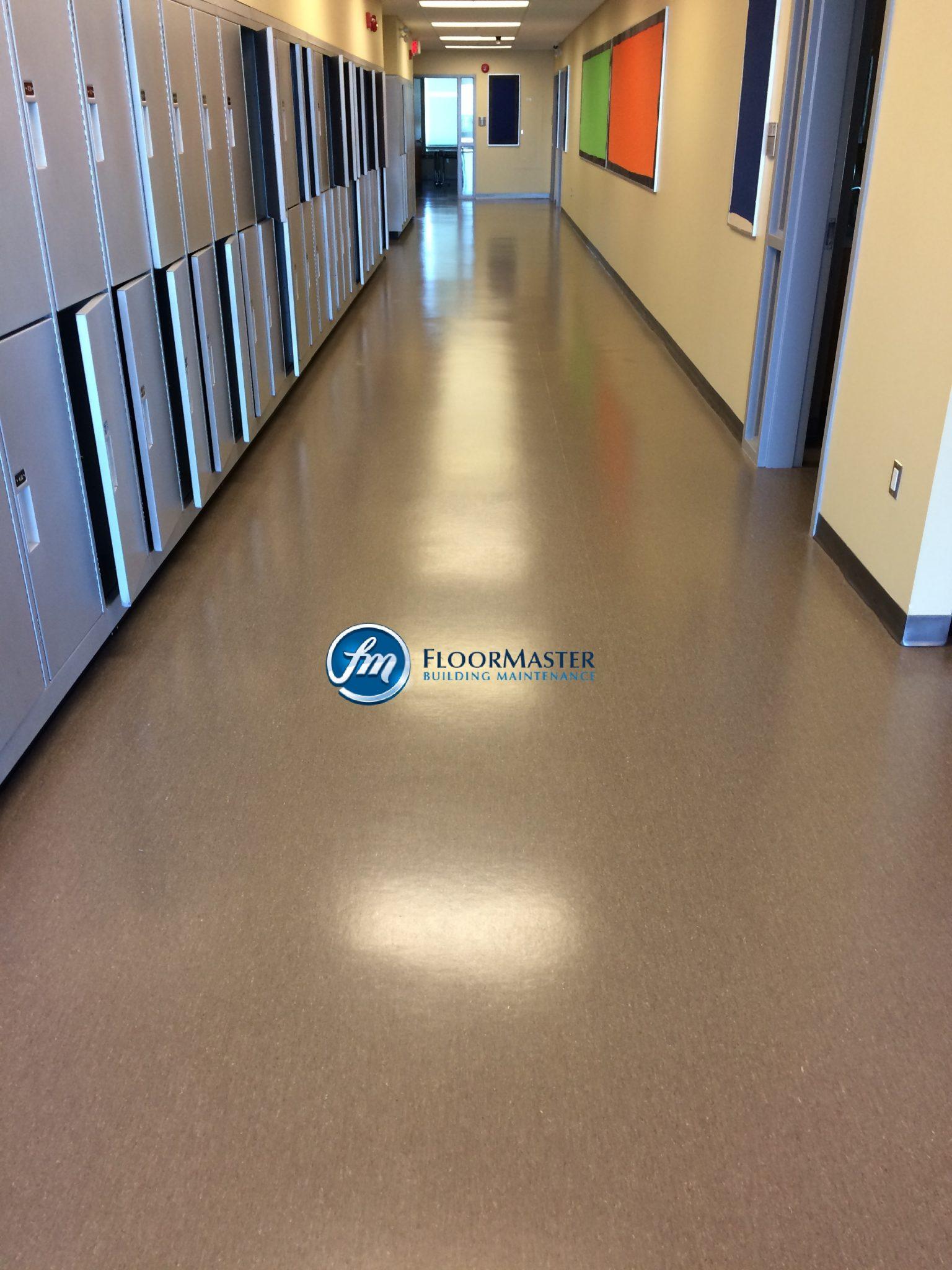 Floor Master Building Maintenance Floor Clean Company - Professional linoleum floor cleaning